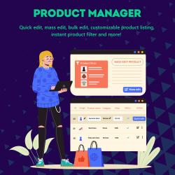 Product Manager – Bulk edit / mass edit / quick edit