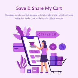 Save & Share My Cart