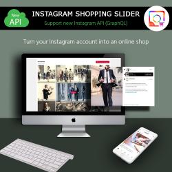 Instagram Shopping Slider – Prestashop Instagram slider module