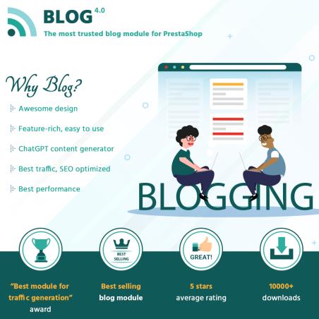 BLOG – All in 1 Prestashop blog module