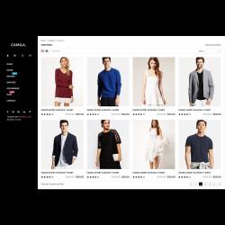 Camila – Fashion template