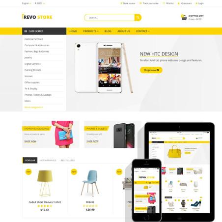 Revo Store – Fashion, digital and furniture template