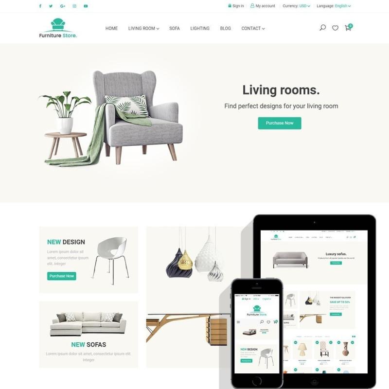 Furniture Store – Responsive furniture & interior Prestashop theme