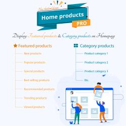 Home Products PRO – PrestaShop Featured categories module