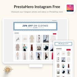PrestaHero Instagram Free module