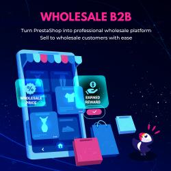 Wholesale B2B - PrestaShop wholesale and retail module